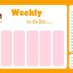 Printable Weekly Planner Template