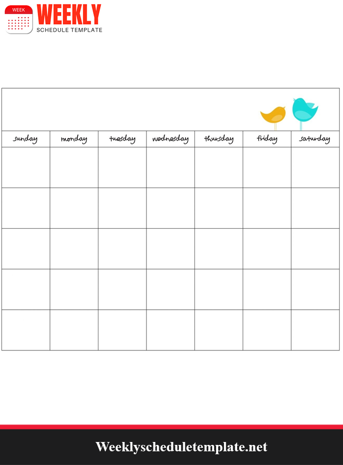 Weekly Employees Shift Schedule Template